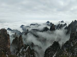 Huangshan scenic area -07
