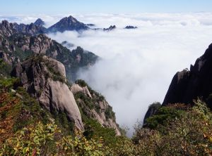 Huangshan scenic area -26