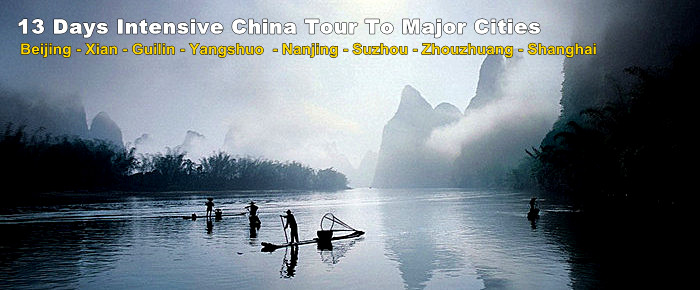 14 Days Beauty of China Plus Yangtze River Join-in Small Group Tour